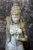 Sculpture of Mythical heroes and Budha. Sculptures of Budha and other mythical heroes in Bali,Indonesia Stock Photos
