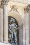 Sculpture Napoleon, Les Invalides, Paris Royalty Free Stock Image