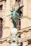 Sculpture near History Museum in Vienna, Austr Royalty Free Stock Photo