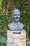 Sculpture of Nelson Mandela Royalty Free Stock Image