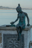 The sculpture `Nicka`. The sculpture `Nika` is located on the waterfront of the city of Sukhum in Abkhazia Stock Photography