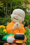 The Sculpture of novice. In asia thailand stock images