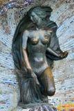 Sculpture of a Nymph. Svetlogorsk (Rauschen), Russia Stock Image