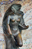 Sculpture of Nymph. Svetlogorsk (Rauschen), Russia Royalty Free Stock Photography