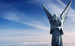 Free Sculpture Of Beautiful Angel Stock Images - 75985834