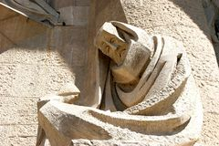 Free Sculpture On Sagrada Familia Royalty Free Stock Photo - 8552025