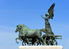 Free Sculpture On Top Of National Monument To Victor Emmanuel II (Altare Della Patria), Rome, Italy Stock Images - 36667384