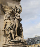 The sculpture in Opera house ,paris,france Stock Image