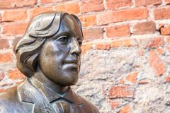 Sculpture Oscar Wilde image stock