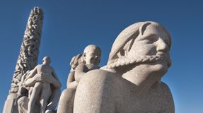 Sculpture in Oslo, Norway Stock Photography