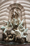 Sculpture outside vienna palace Royalty Free Stock Photography