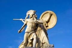 Sculpture of the Palace Bridge - Schlossbruecke Stock Image