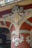 Sculpture at Palau de la Música Catalana Stock Photography