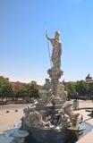 Sculpture of Pallas Athena. Austrian Parliament.Vienna. Austria Stock Images