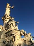 sculpture of pallas athena Royalty Free Stock Photo