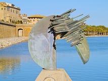 Sculpture in Palma of Majorca Stock Photos