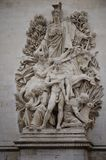 Sculpture in Paris Royalty Free Stock Photo
