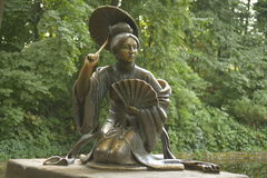 Sculpture in the Park. Female sculpture in the park Stock Photos
