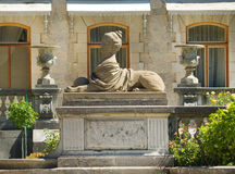 Sculpture in the park of Massandra`s palace in Crimea. Sculpture in park of Massandra`s palace in Crimea Stock Photos