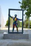 Sculpture in the Park Nova Icaria Stock Image