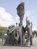 Sculpture Peace to the World in Muzeon park. Sculptor M. Baburin Stock Images