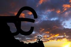 Sculpture peine de los vientos in San Sebastian. Stock Photo