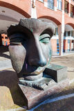 Sculpture Per Adriano from Igor Mitoraj in The Hague, Netherlands Royalty Free Stock Image