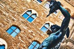 Sculpture of Perseus by Benvenuto Cellini from Piazza della Signoria in Florence. Italy royalty free stock photos