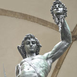 Sculpture of Perseus With The Head of Medusa by Benvenuto Cellin Stock Image
