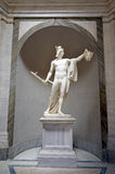 Sculpture of Perseus holding head of the Gorgon Medusa Stock Photo