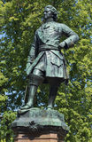 The sculpture of Peter the great. Detail of monument in Kronstadt Royalty Free Stock Photo