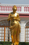 Sculpture in Peterhof Royalty Free Stock Photos