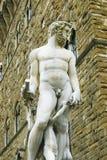 Sculpture in piazza della signoria,florence,italy stock photos