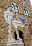Sculpture on Piazza della Signoria in Florence Royalty Free Stock Images