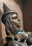 Sculpture Pierrot Stock Images