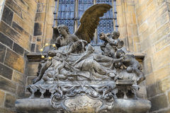 Sculpture in Prague Royalty Free Stock Photo