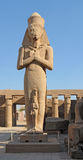Sculpture at the Precinct of Amun-Re Royalty Free Stock Image