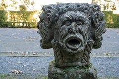Sculpture principale en trois visages photo libre de droits