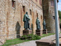Sculpture Prussian kings Royalty Free Stock Photo