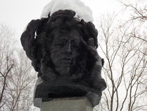 Sculpture of Pushkin Royalty Free Stock Photo