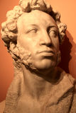 Sculpture of Pushkin Royalty Free Stock Images