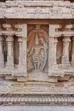 Sculpture of Rama with bow and arrow, India Stock Photo
