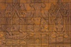 Sculpture of ramayana Stock Image