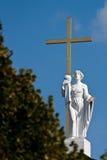 Sculpture. A religious sculpture in Vilnius, Lithuania Stock Image