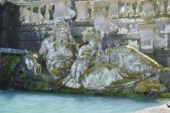 Sculpture of River God Stock Photos