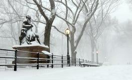 Sculpture of Robert Burns royalty free stock image