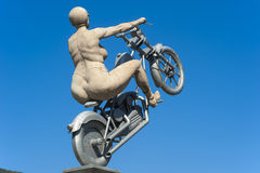 The sculpture the rocker bride in Hirsau Royalty Free Stock Photo