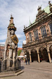 Sculpture of Roland, Bremen, Germany Royalty Free Stock Image