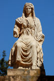 Sculpture romaine, femme Images stock