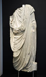 Sculpture of a Roman citizen Stock Photography